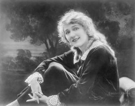 MARY PICKFORD, ACTRESS, WRITER, PRODUCER