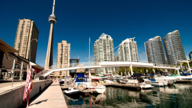 View of Toronto from the Pier
